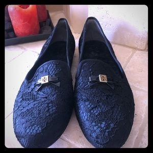 Tory Burch Lace Loafers - 9.5
